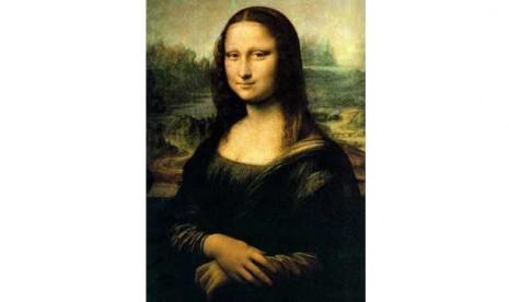 Mona Lisa, Lukisan karya Leonardo Da Vinci