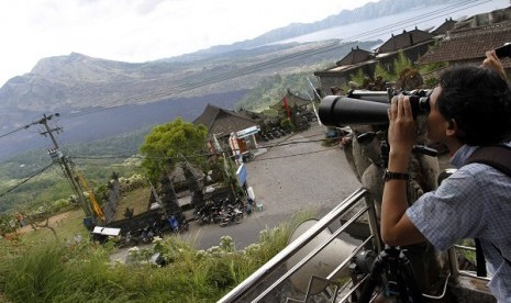 Mount Batur in Bali (file photo)