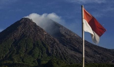 Mount Merapi in Sleman, Yogyakarta (file photo)