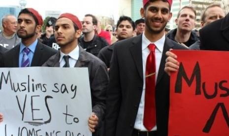 Obama Sebut Muslim AS Ketakutan