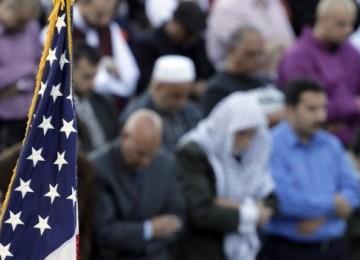 Muslim Amerika (ilustrasi).