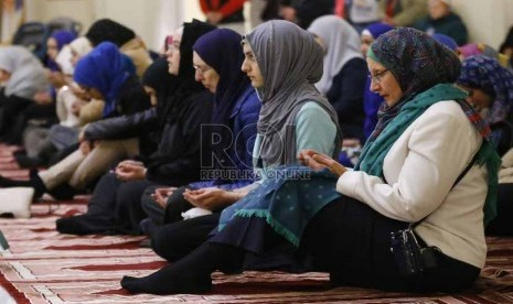 Muslim Amerika Serikat (ilustrasi)