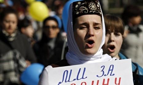Muslim Tatar, Crimea