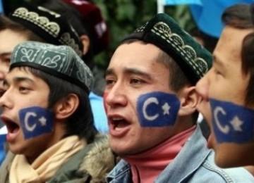 Muslim Uighur Cina