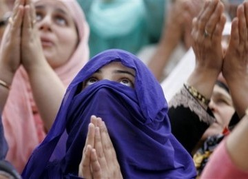 Muslimah Kashmir (ilustrasi)