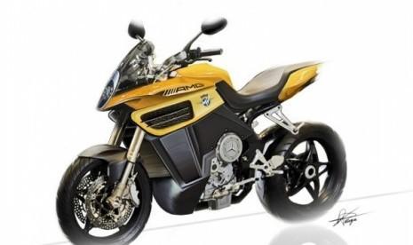 MV Agusta AMG, motor sport terbaru rancangan MV Agusta dan Mercedes Benz.