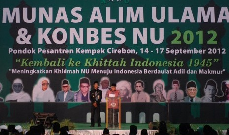 National Convention of Nahdlatul Ulama opens in Pesantren Kempek, Cirebon, West Java. The suggestion of death sentence for corruptor emerges on Sunday meeting.