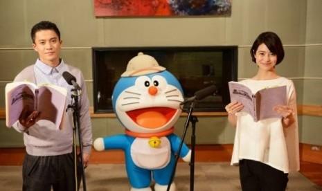 Oguri Shun dan Natsume Miku Jadi Pengisi Suara Film Doraemon