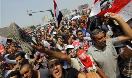 Oposisi anti-Presiden Mesir Muhamad Mursi