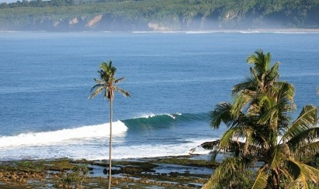 Palabuan Ratu beach in Sukabumi, West Java (file photo)