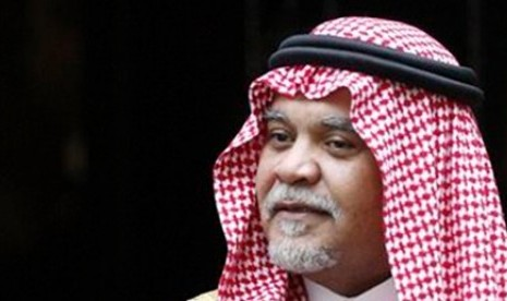 Pangeran Bandar bin Sultan ditunjuk sebagai kepala intelijen Arab Saudi pada Juli 2012