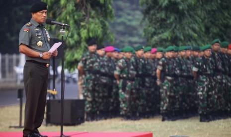 Panglima TNI Jenderal Moeldoko.