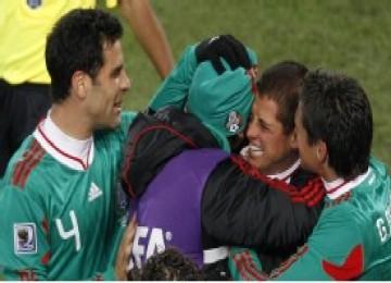 Para pemain timnas Meksiko