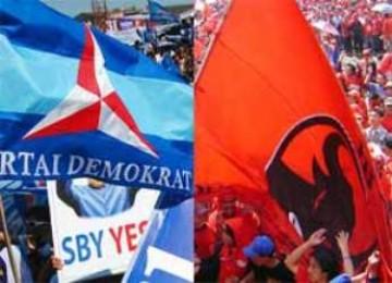 Partai Demokrat dan PDIP