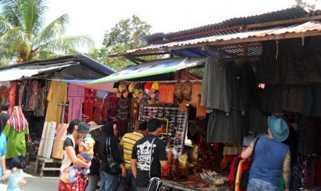 Pasar Serikin di Serawak, Malaysia