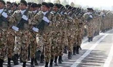 Pasukan Garda Republik Iran.