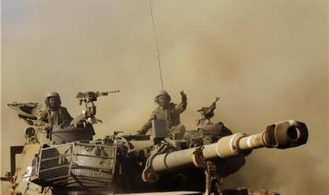 Pasukan Israel Dobrak Sekolah Palestina, Pukuli Guru dan...