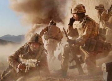 Pasukan koalisi AS-Sekutu di perang Afghanistan (Ilustrasi)