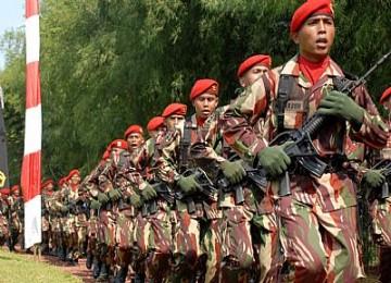 Pasukan Kopassus, ilustrasi