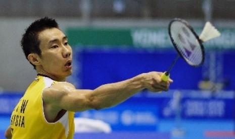 Pebulu tangkis nomor satu dunia asal Malaysia, Lee Chong Wei.