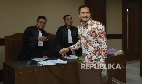 In Picture: Sidang Perdana Saipul Jamil