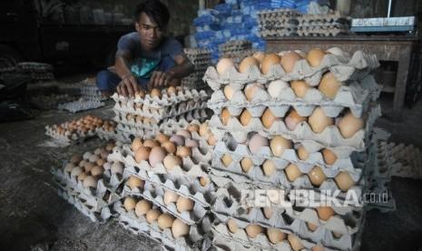Ratusan Telur Busuk di Jual di Pasar Bogor
