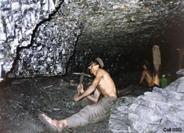 Pekerja tambang batu bara di Pakistan, ilustrasi