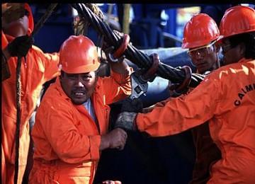 pekerja tambang
