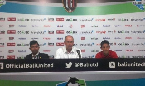 Pelatih Bali United Ungkap Kekecewaan Ditaklukkan Persipura
