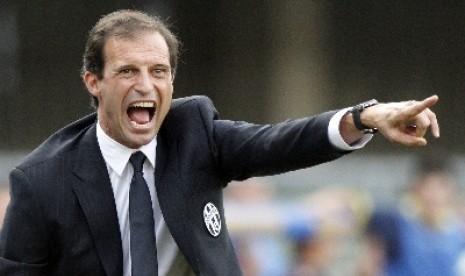 Pelatih Massimiliano Allegri.