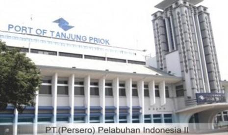 PT Pelindo II di Tanjung Priok, Jakarta Utara.