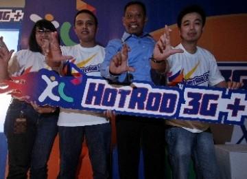 Peluncuran Xl Hotrod 3G+  di Jakarta