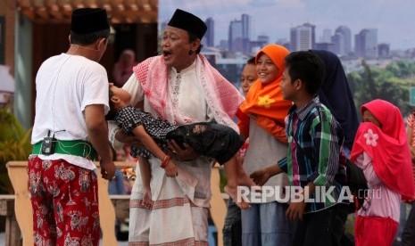 Nyorog Tradisi Lawas Betawi Sambut Ramadhan
