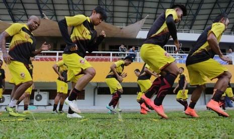 Laga Sriwijaya FC Lawan Lampung Sakti Ditunda