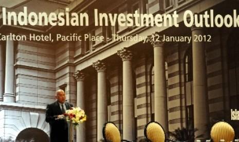Pemaparan Indonesia Investment Outlook 2012 di Jakarta beberapa waktu lalu (ilustrasi).
