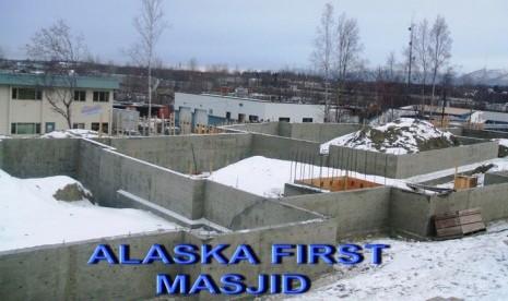 Pembangunan masjid pertama di Alaska.