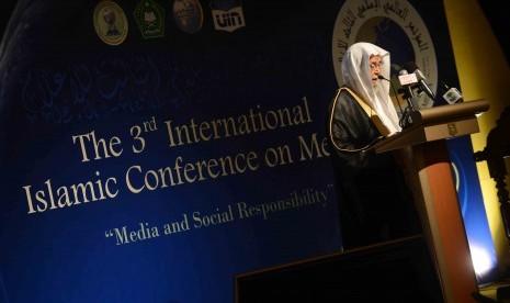 Pembukaan The third International Islamic Conference on Media di Jakarta beberapa waktu lalu.