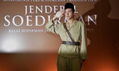 Adipati Dolken Sempat Gugup Perankan Jenderal Soedirman