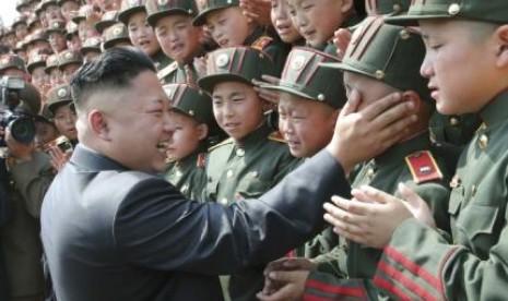 Pemimpin Korea Utara, Kim Young Il.