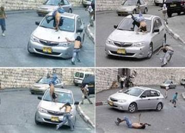 Brutal, Tokoh Pemukim Yahudi Sengaja Tabrak Bocah Palestina