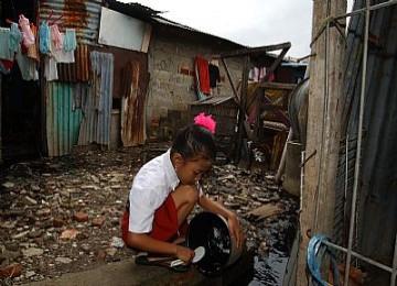 Pemukiman kumuh warga miskin