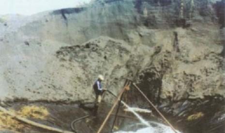 Penambangan pasir (Ilustrasi)