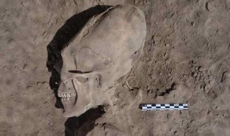 Penemuan Tengkorak Ungkap Ritual Kuno Masyarakat Meksiko