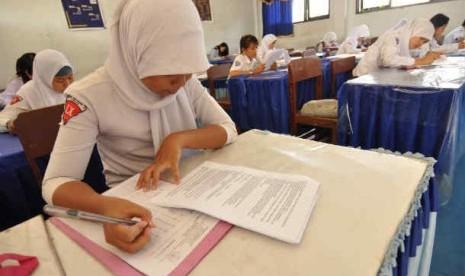 Penerimaan siswa baru (ilustrasi)