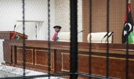 pengadilan libya (ilustrasi)