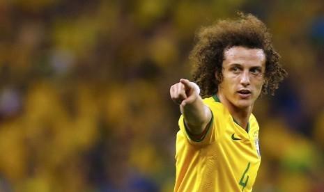 Penggawa timnas Brasil, David Luiz.