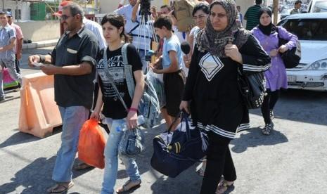 PBB: Pengungsi Suriah di Lebanon Capai 106.000