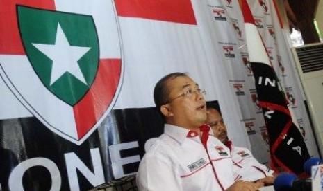Pengurus Perhimpunan Pergerakan Indonesia (PPI) Muhammad Rahmad
