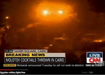 \'Perang\' di Tahrir Square