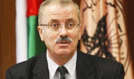 Perdana Menteri Palestina yang baru, Rami Hamdallah.